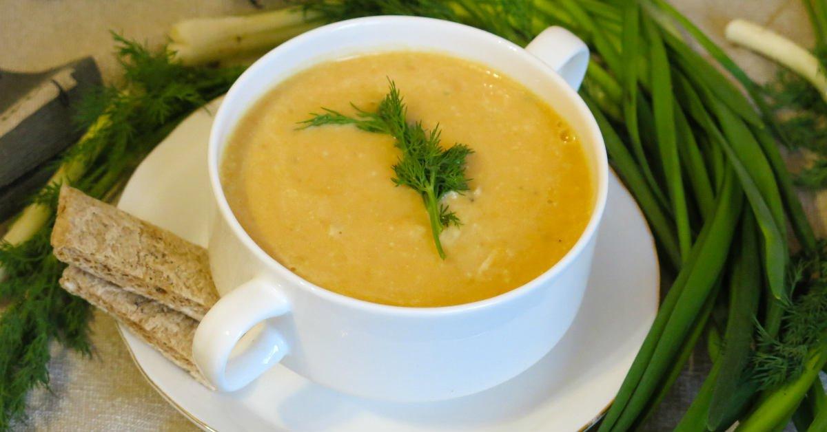 крем-суп в ресторанах