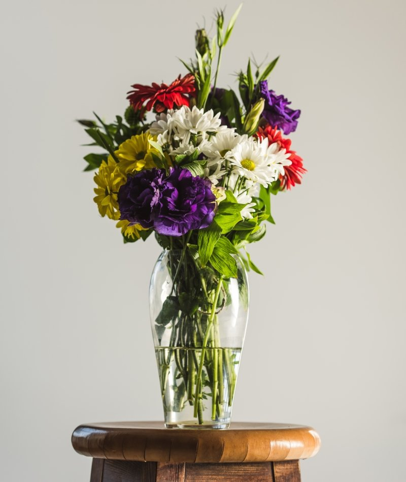 красивый букет в вазе
