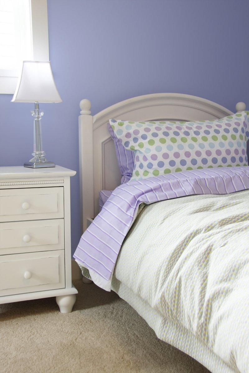 гармоничные цвета для спальни