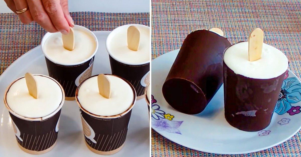 как приготовить домашнее морожено