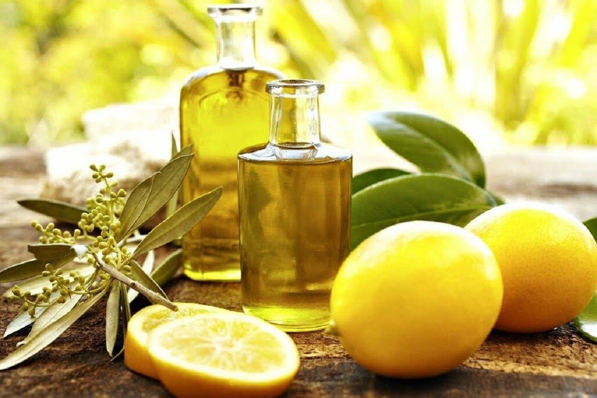 лимоны с оливковым маслом