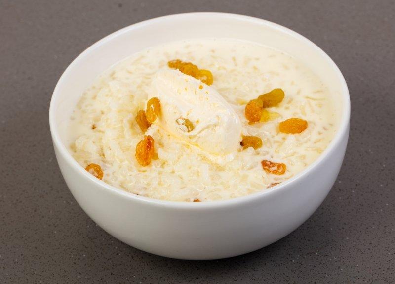 Как сварить рисовую кашу на молоке