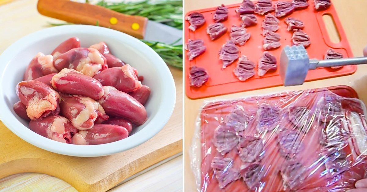 Как вкусно приготовить куриные сердечки