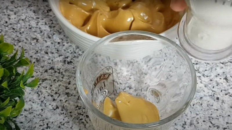 пенка из растворимого кофе