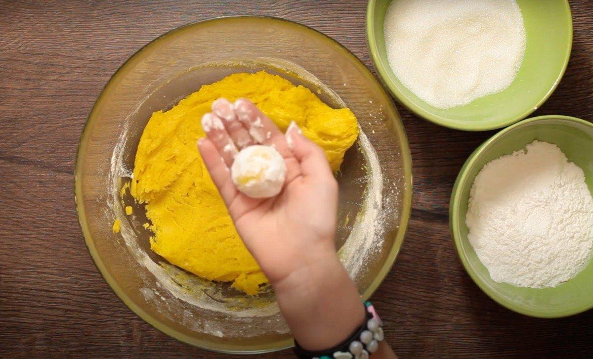 воздушное Лимонное печенье