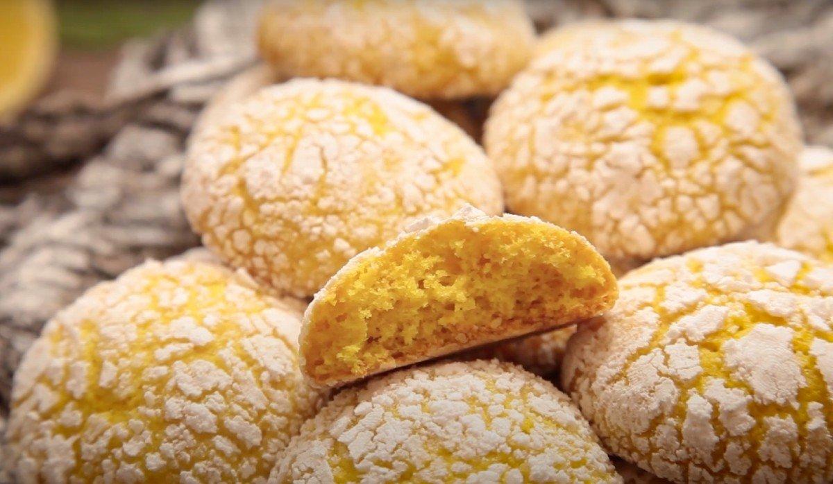 Лимонное печенье рецепт