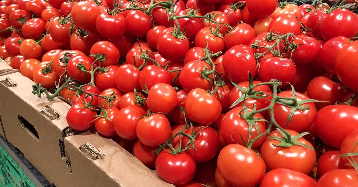 Магазинные помидоры