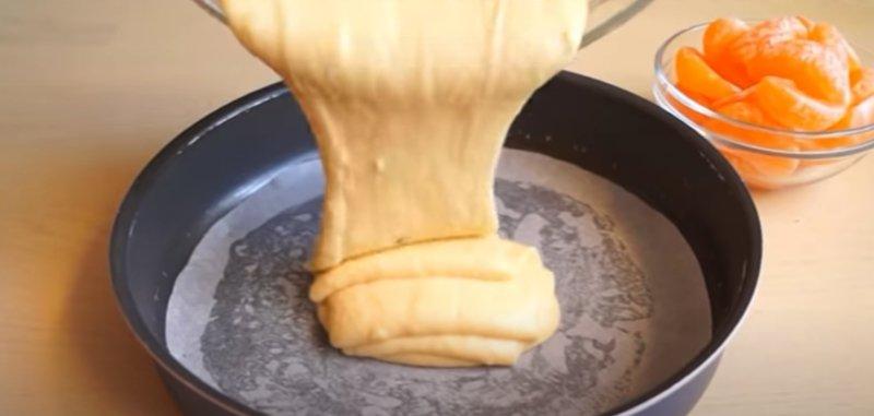 тесто пирога