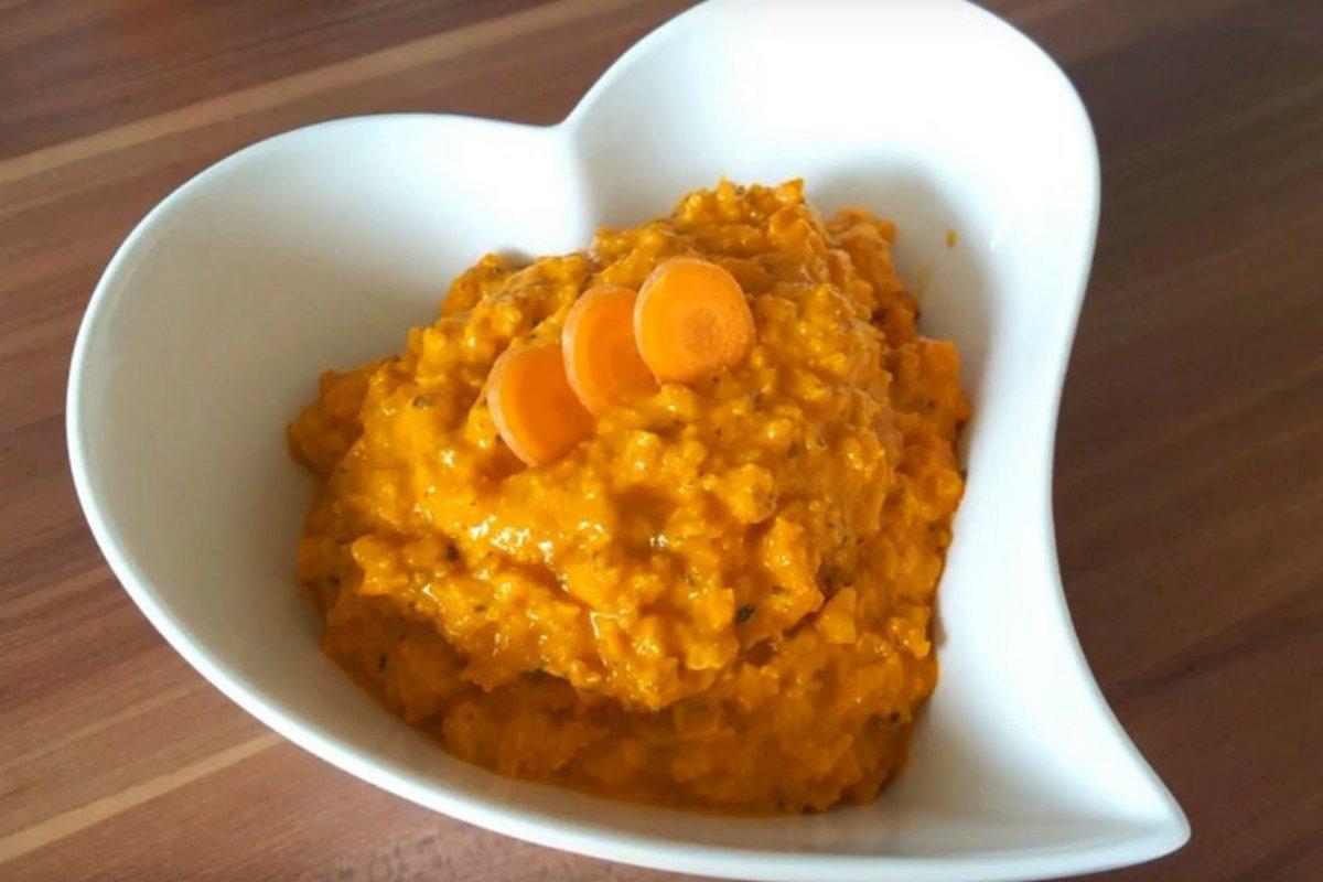 морковная намазка