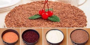 Рецепт пирога с вишней в духовке