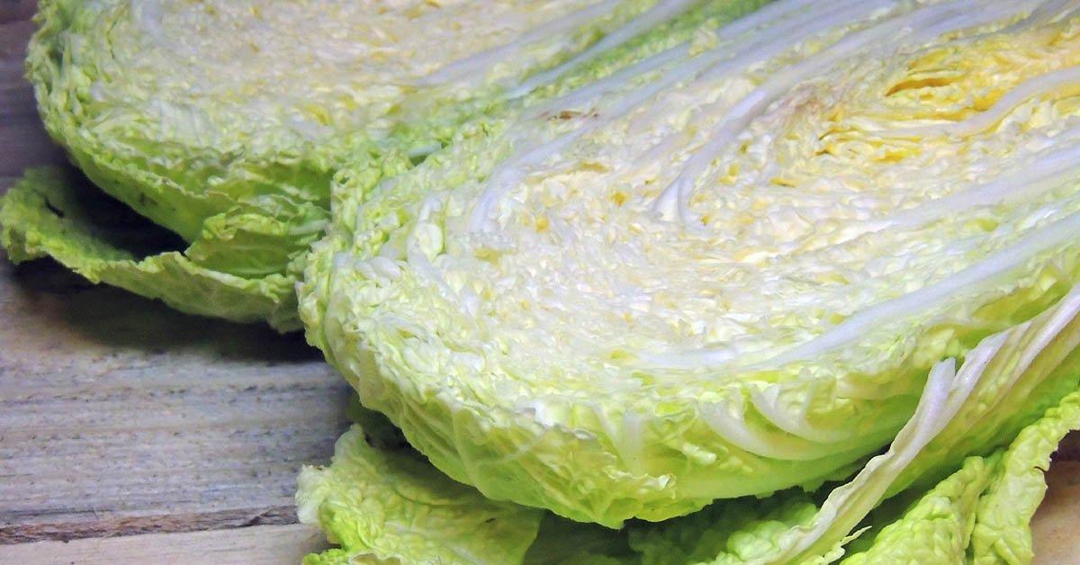 блюдо из пекинской капусты