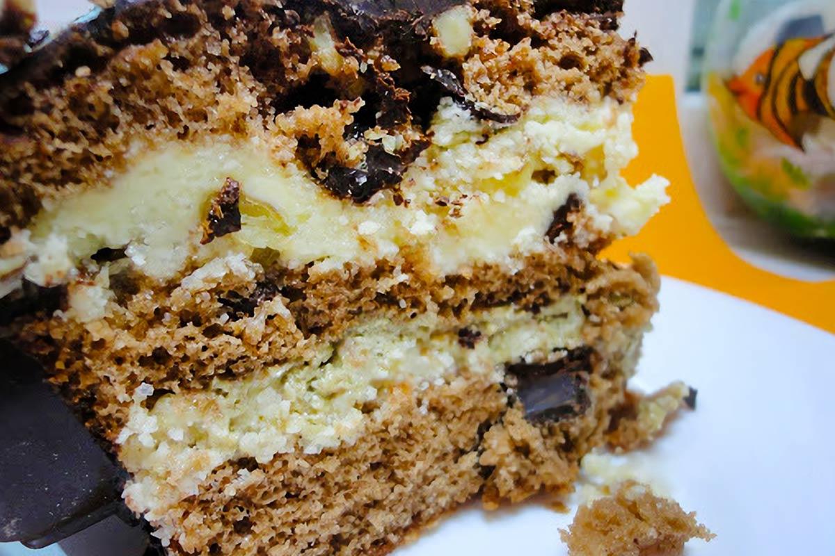 торт с халвой как приготовить