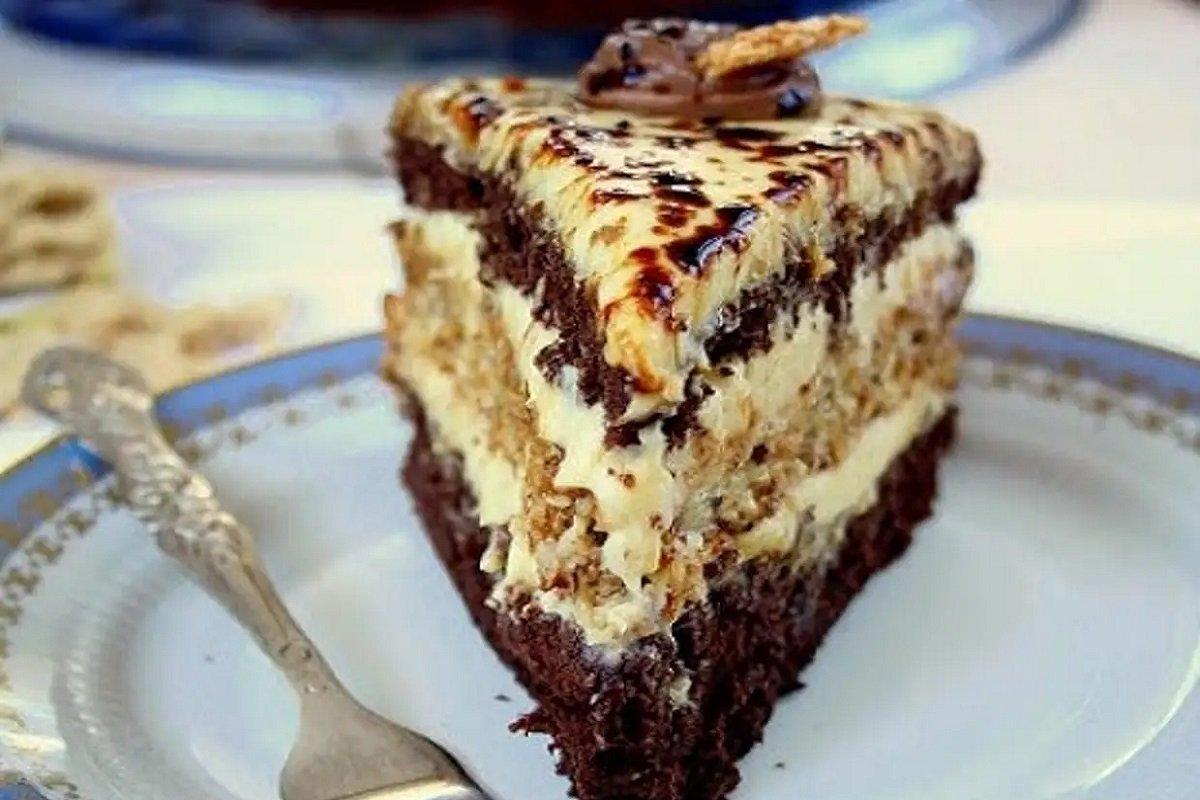 рецепт торта с халвой