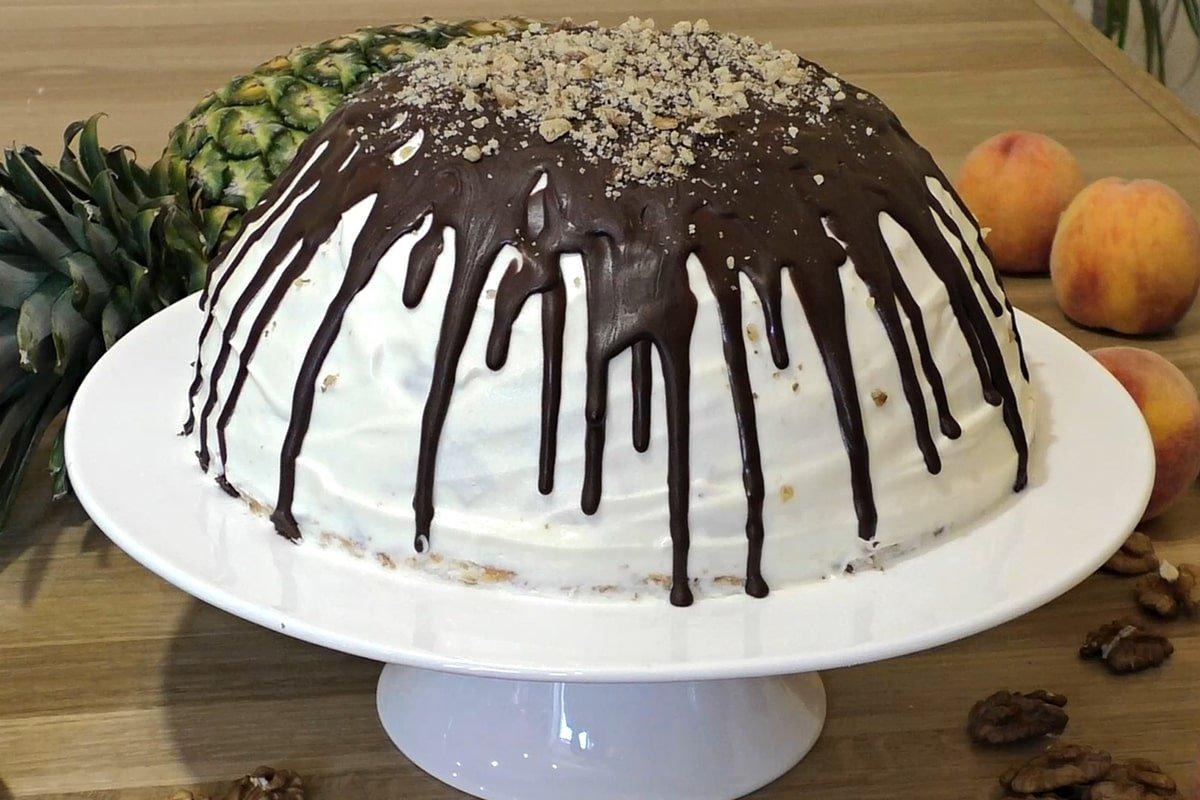 торт панчо на блюде
