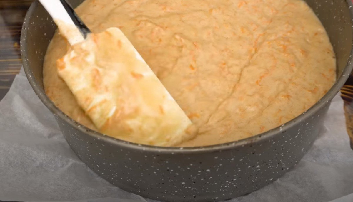 Вкусный морковный торт в духовке